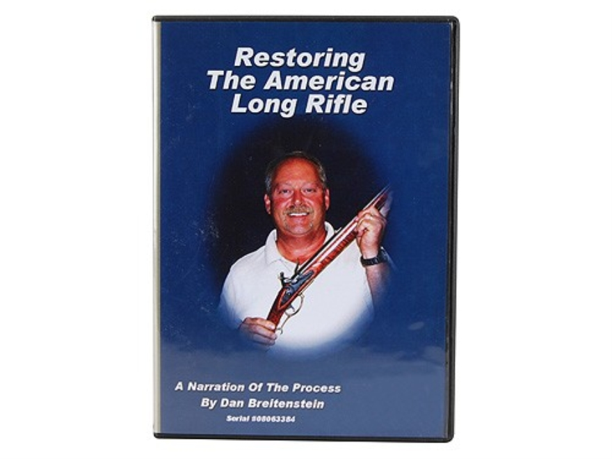 "American Gunsmithing Institute (AGI) Video ""Restoring the American Long Rifle"" DVD"