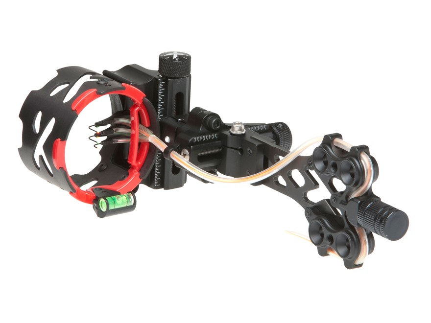"Archer Xtreme Titanium XT 5-Pin Bow Sight .019"" Pin Diameter Titanium and Aluminum Black"