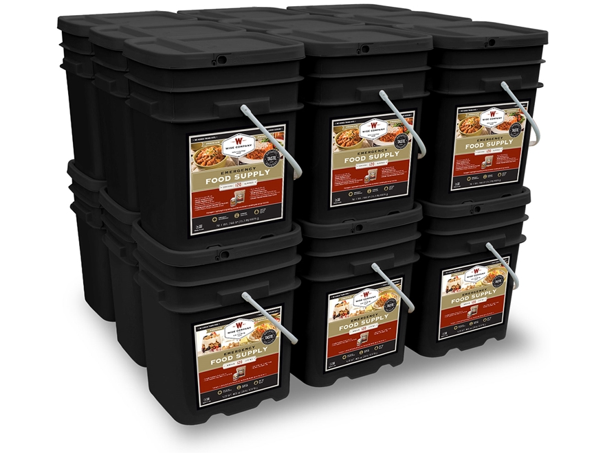 Wise Food 2160 Serving Vegetarian Entree and Breakfast Freeze Dried Food Kit