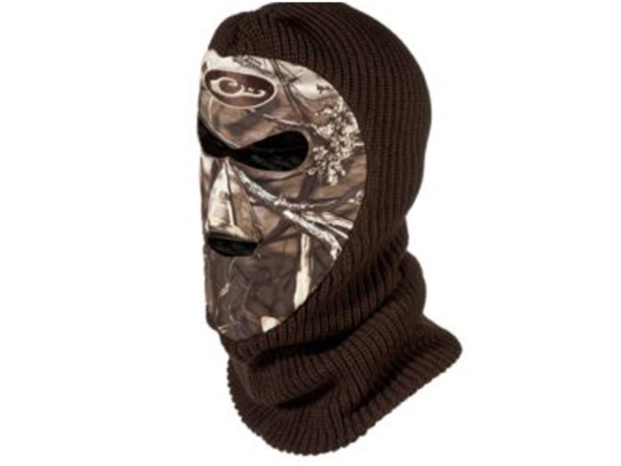 Drake LST Face Mask Polyester Realtree Max-4 Camo