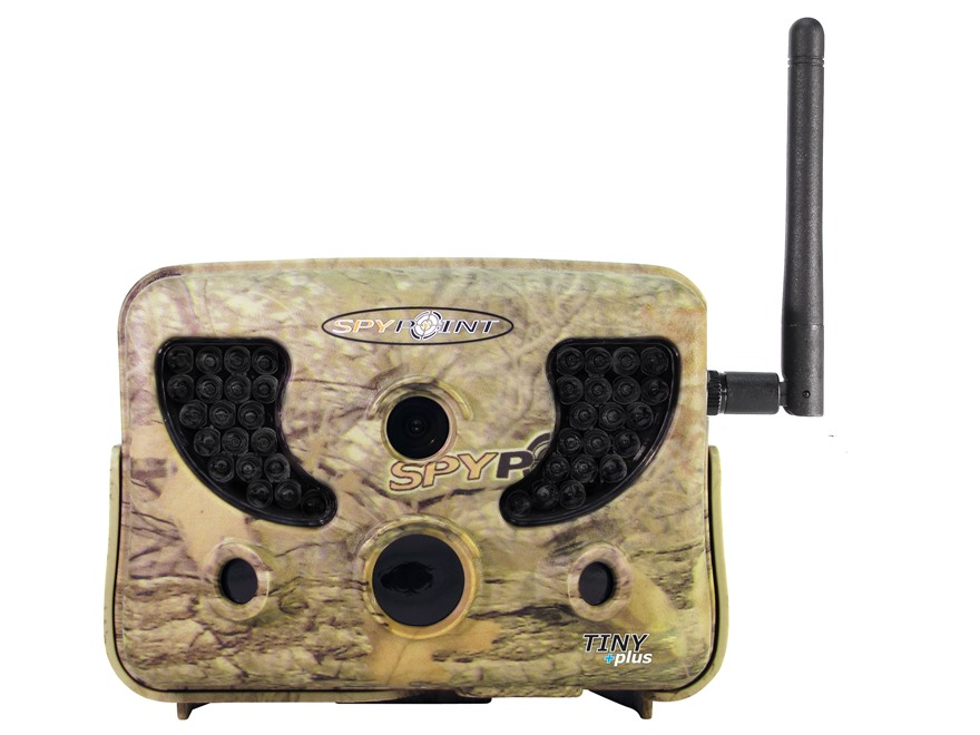 Spypoint Tiny-Plus Wireless Black Flash Infrared Game Camera with Remote 10 MP with Vie...