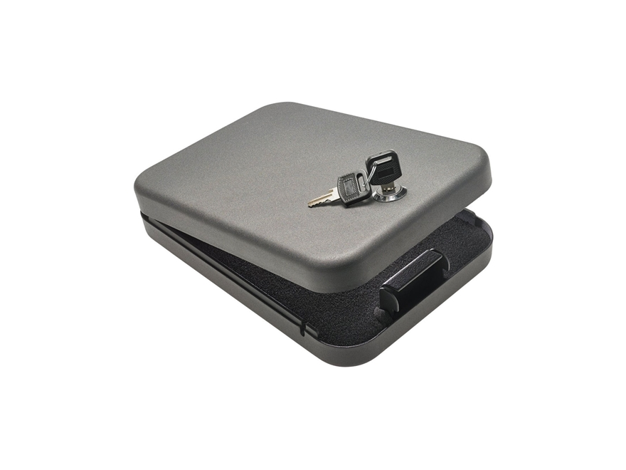 SnapSafe Lockbox Keyed Lock Steel Black