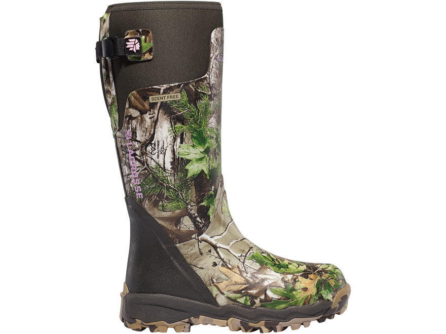 "LaCrosse Alphaburly Pro 15"" Waterproof Uninsulated Hunting Boots Rubber Clad Neoprene R..."