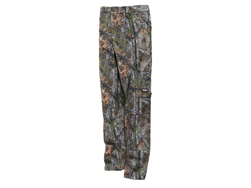 Walls Legend Men's 6-Pocket Cargo Pants Cotton Realtree Xtra Camo Medium 34-36