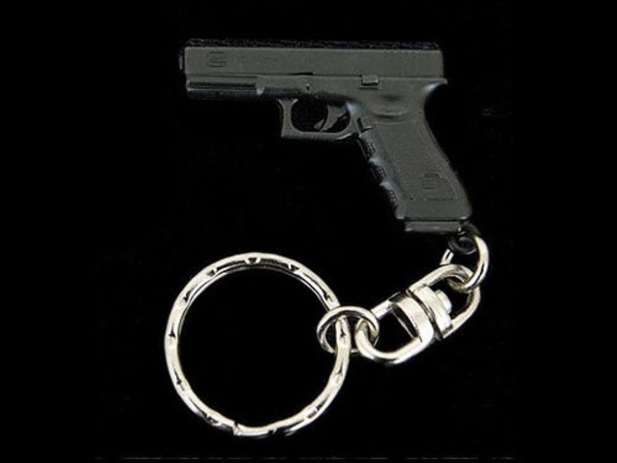 Glock Key Chain Black