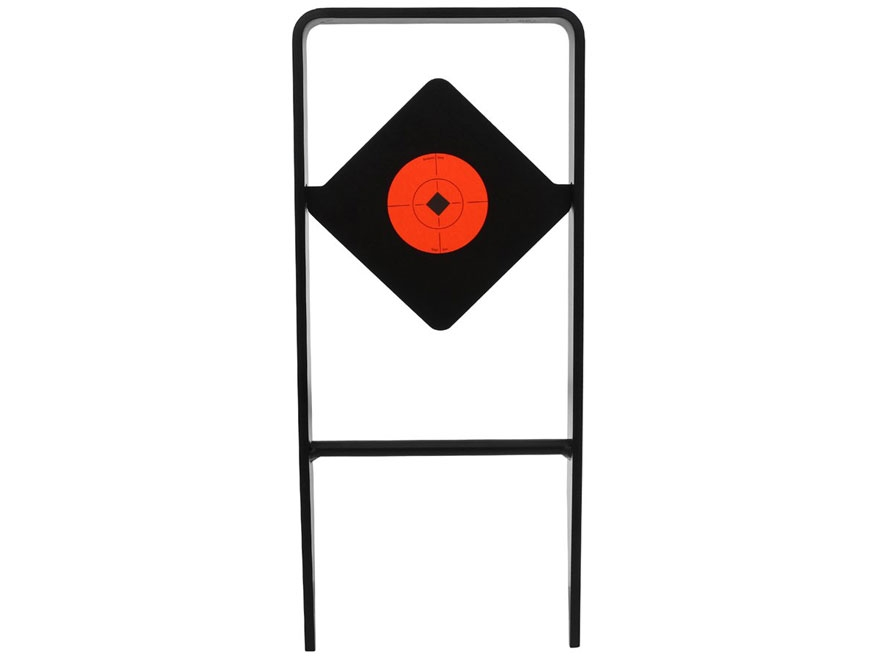 Birchwood Casey Ace of Diamonds AR500 Centerfire Rifle and Handgun Target Steel Black