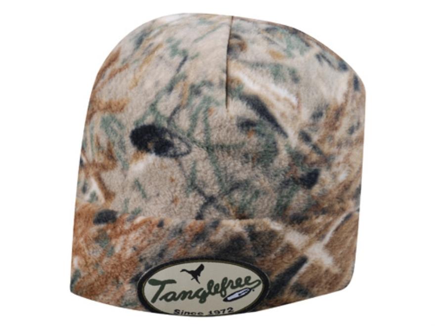 Tanglefree Beanie Fleece Mossy Oak Duck Blind Camo