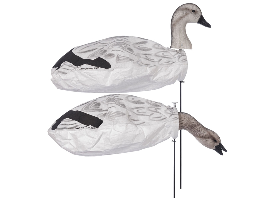 Tanglefree Slammer Socks Juvy Snow Goose Decoy Pack of 12