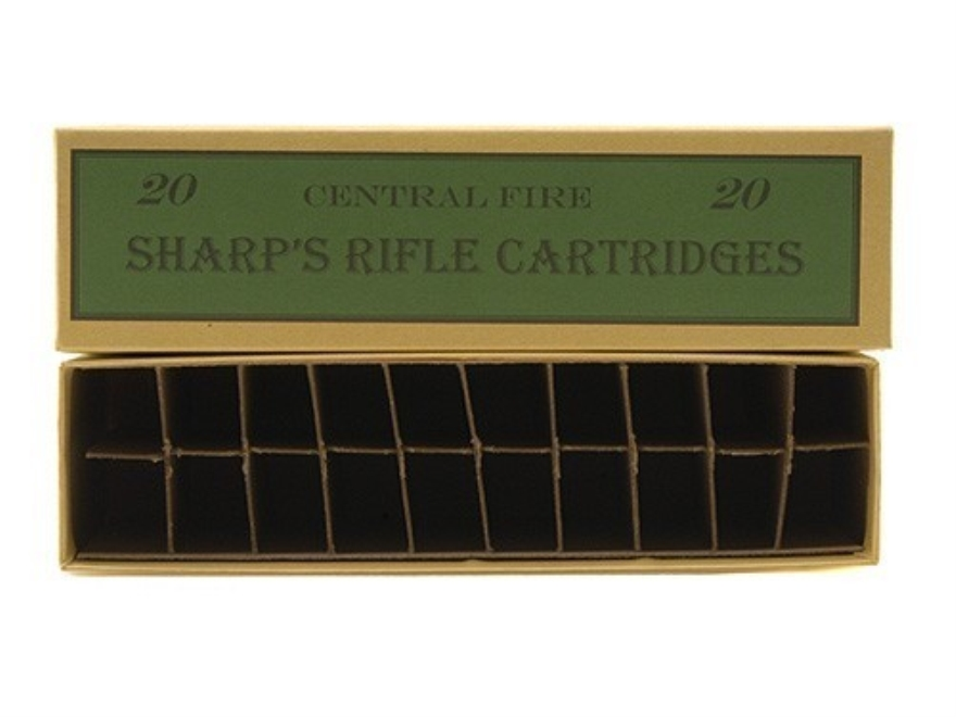 Cheyenne Pioneer Cartridge Box Sharps Rifle Chipboard Pack of 5