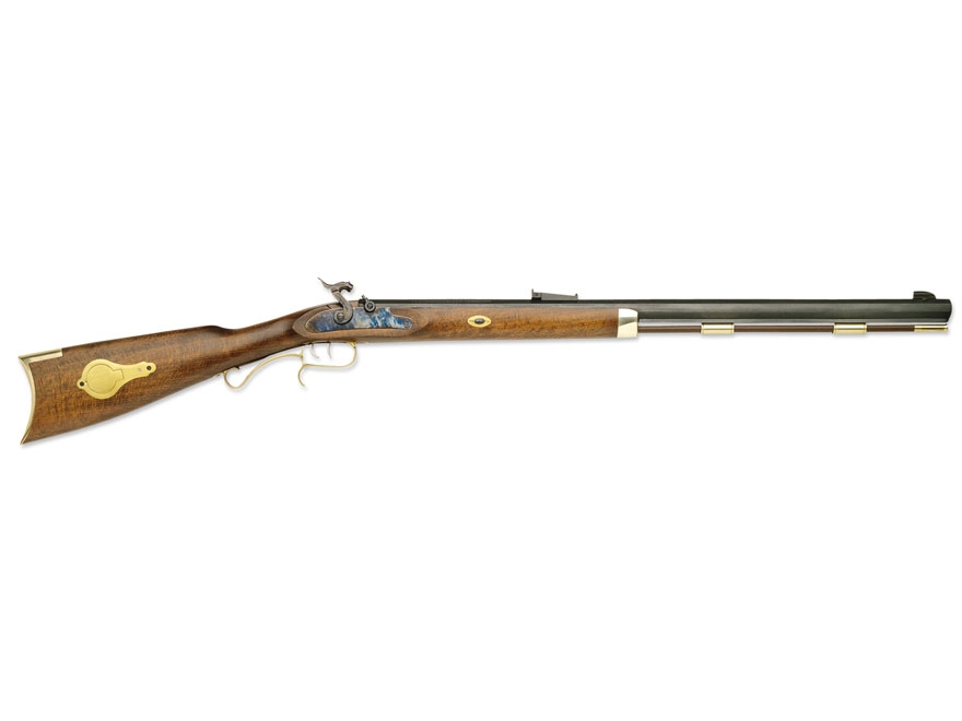 "Traditions Hawken Woodsman Muzzleloading Rifle 50 Caliber Percussion 28"" Blued Barrel S..."