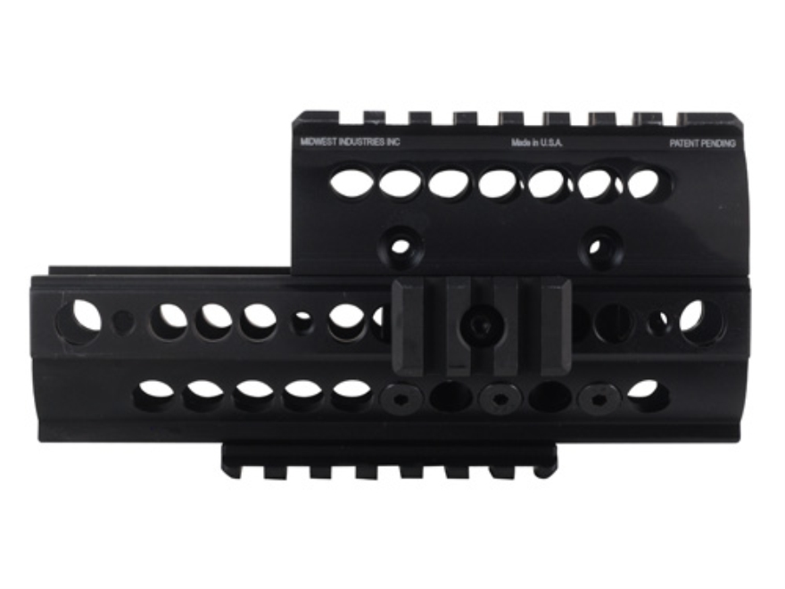 Midwest Industries SS-Series 2-Piece Modular Rail Handguard AK-47, AK-74 Aluminum Black