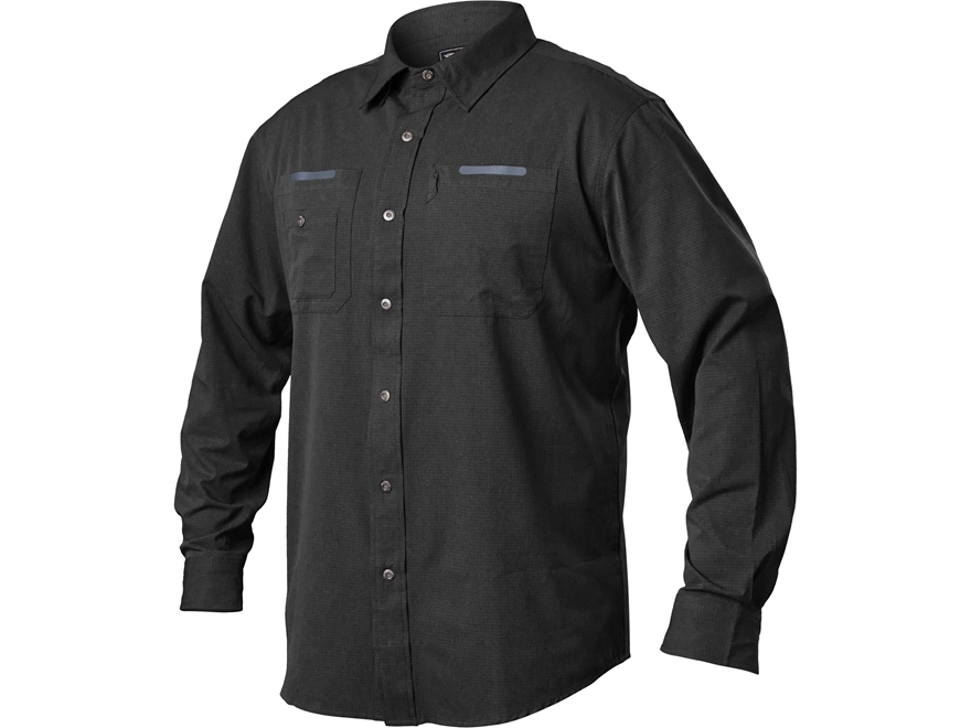 BLACKHAWK! Men's Tac Flow Button-Up Shirt Long Sleeve Polyester