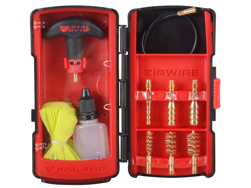 Real Avid Zipwire Pistol Cleaning Kit .22 Caliber to .45 Caliber