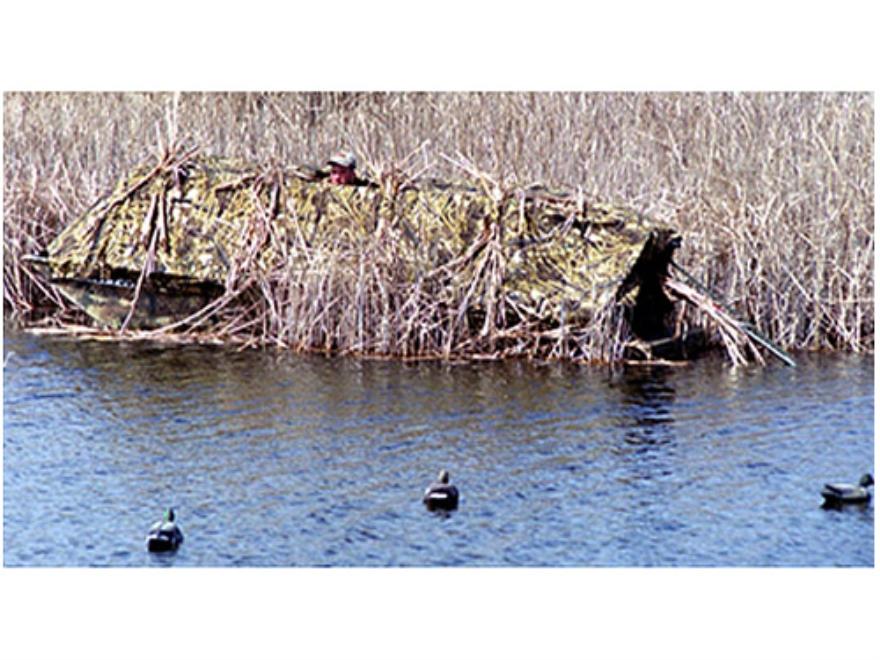 Beavertail 1400 Boat Blind Nylon Mossy Oak Break-Up Camo