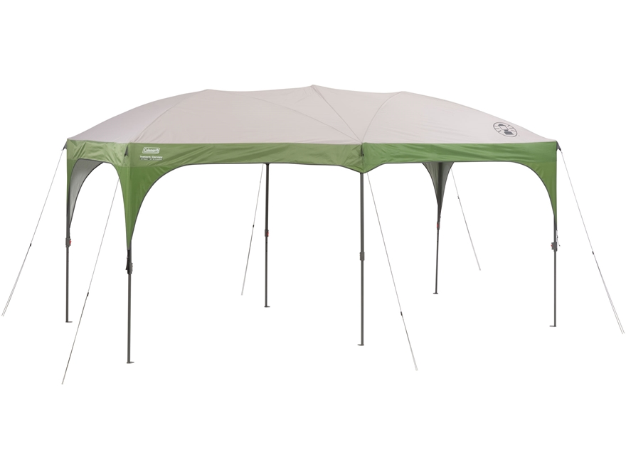 "Coleman 192"" x 96"" Instant Shelter Green and White"