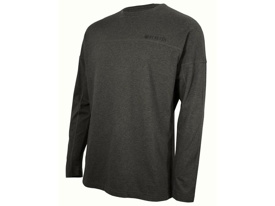 Beretta Men's Logo T-Shirt Long Sleeve Cotton
