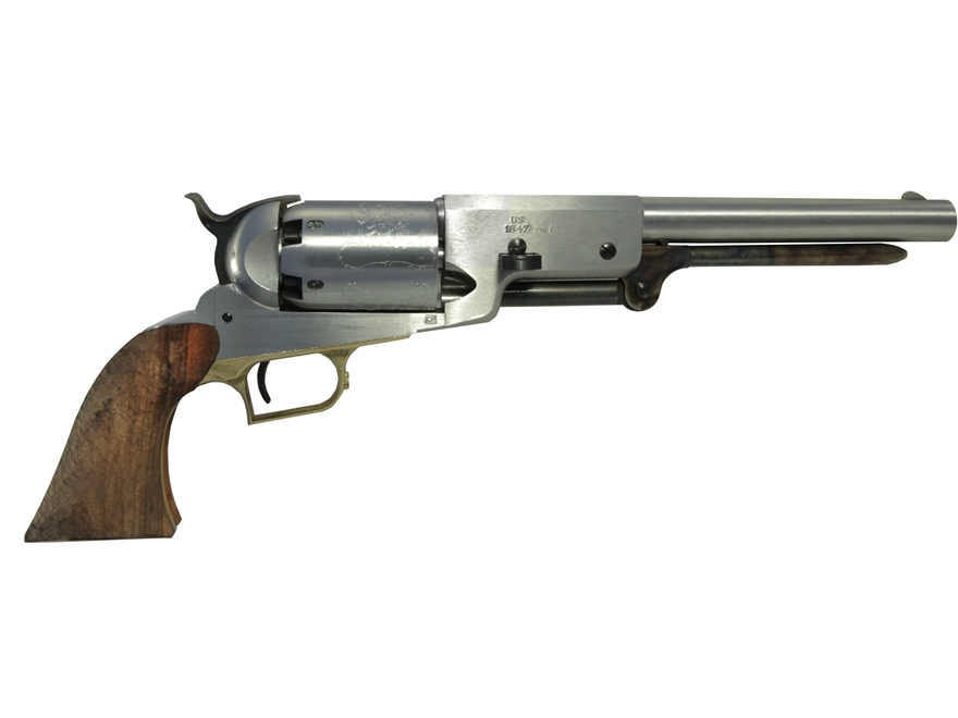 "Uberti 1847 Walker Black Powder Revolver Build-Your-Own Kit 44 Caliber 9"" Barrel Steel ..."