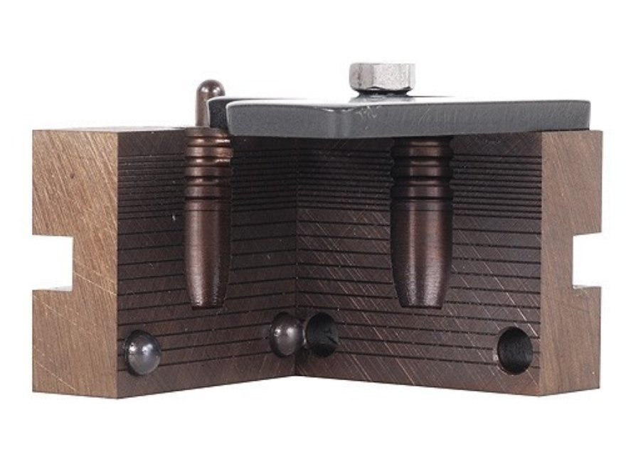 RCBS 1-Cavity Bullet Mold 44-370-FN 11mm, 44 Caliber (446 Diameter) 370 Grain Flat Nose