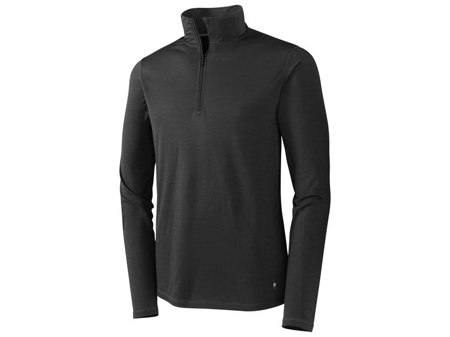 Smartwool Men's NTS Micro 150 1/4 Zip Long Sleeve Base Layer Shirt