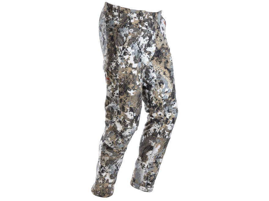 Sitka Gear Youth Stratus Windproof Pants Microfleece Gore Optifade Elevated II Camo