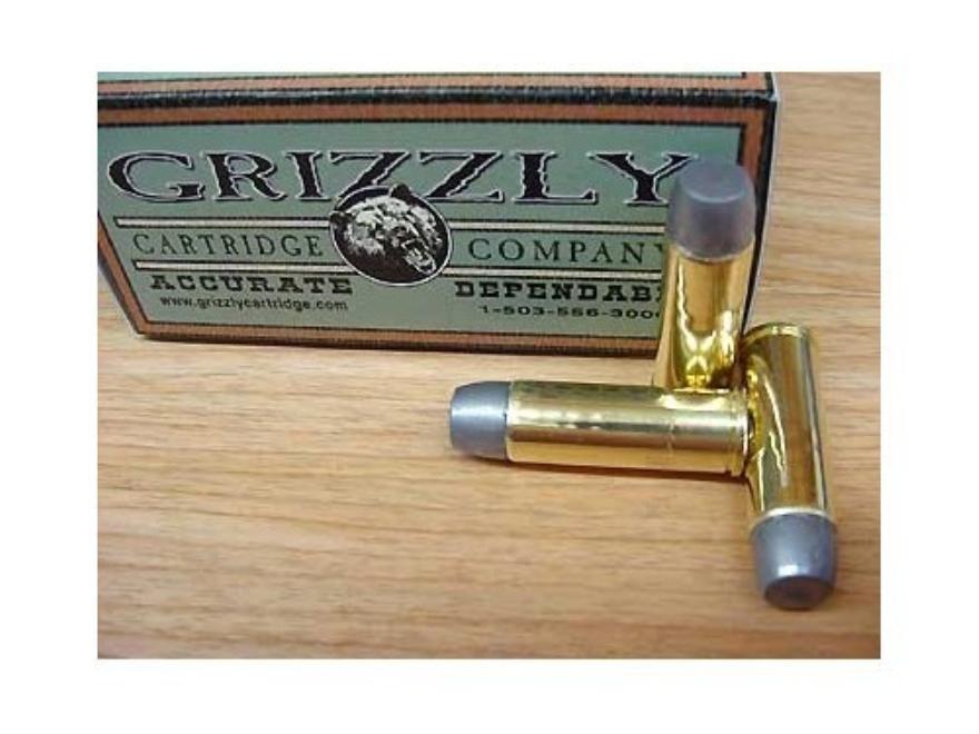 Grizzly Ammunition 475 Linebaugh 425 Grain Cast Performance Lead Wide Flat Nose Gas Che...