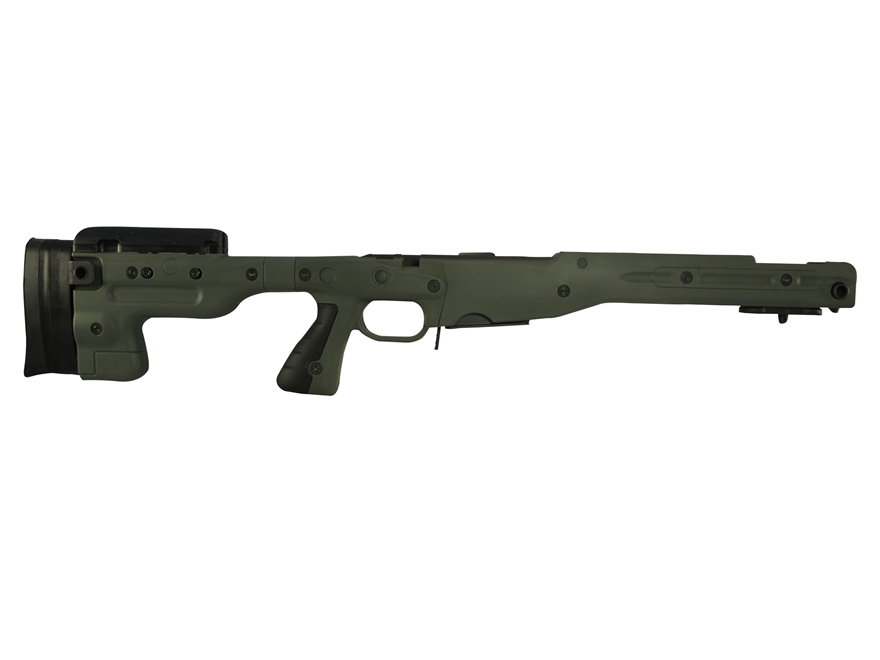 Accuracy International Chassis System AT AICS Stage 1.5 Adjustable Stock Remington 700 ...