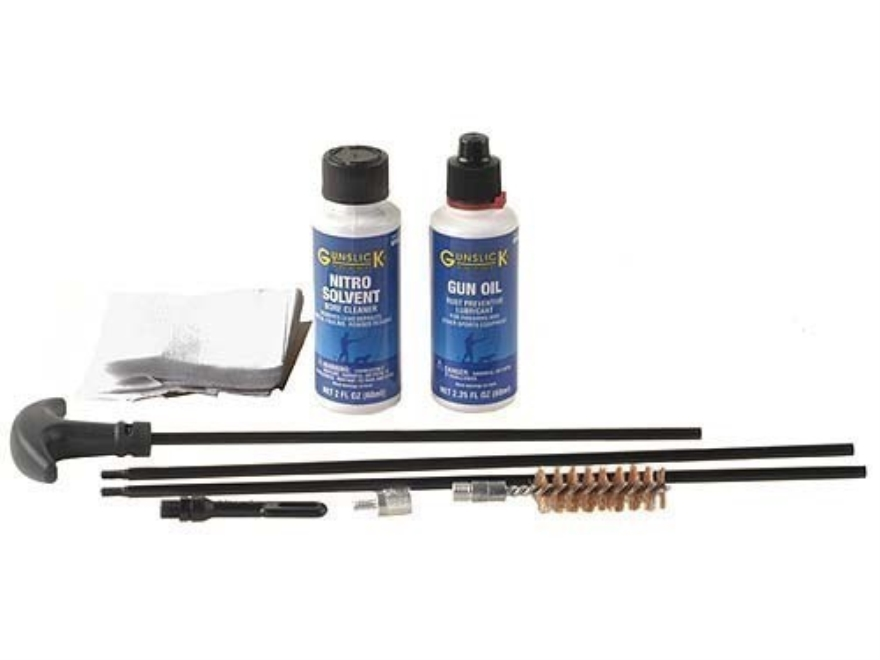 Gunslick Pro Standard Rifle Cleaning Kit 24 to 26 Caliber