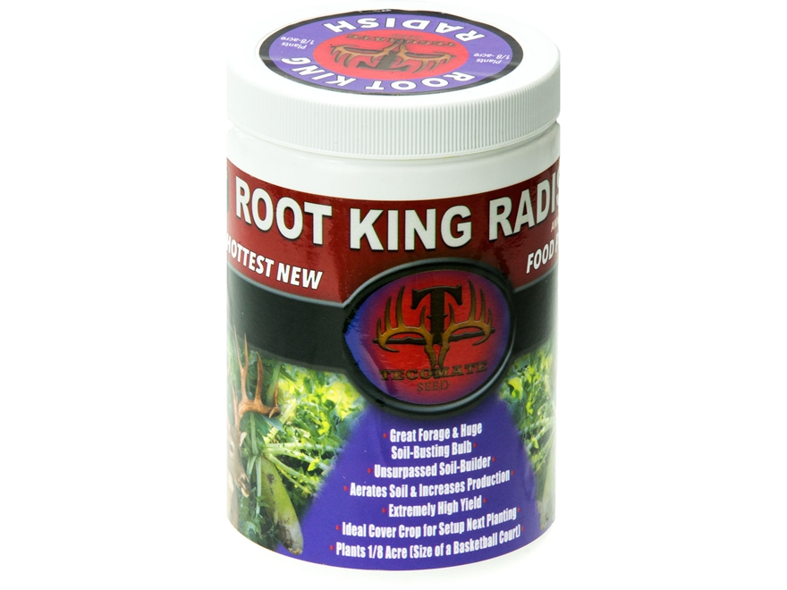 Tecomate Root King Radish Pounder Annual Food Plot Seed 1 lb