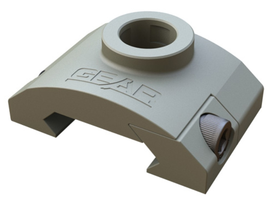 Gear Sector Rail Mount Quick Detach Sling Swivel Socket Adapter AR-15 Aluminum