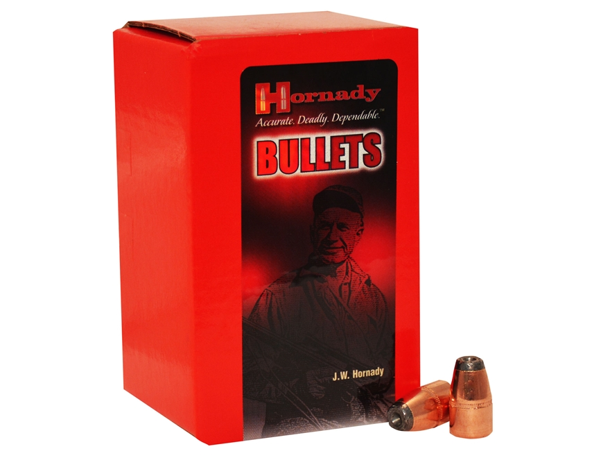 Hornady Bullets 45 Caliber (458 Diameter) 300 Grain Hollow Point Box of 50