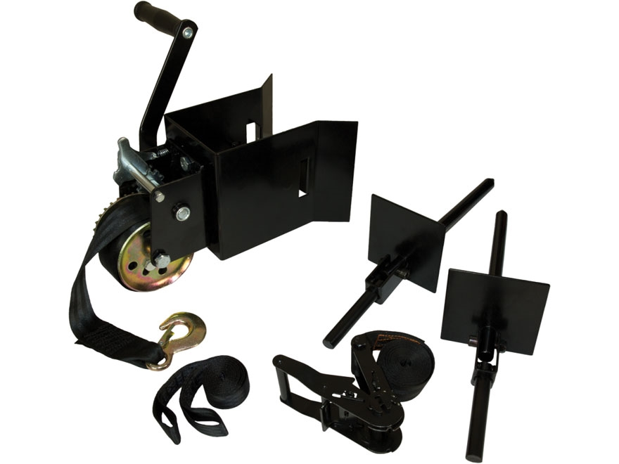 Muddy Outdoors Ladderstand Installation Hoist Kit Black