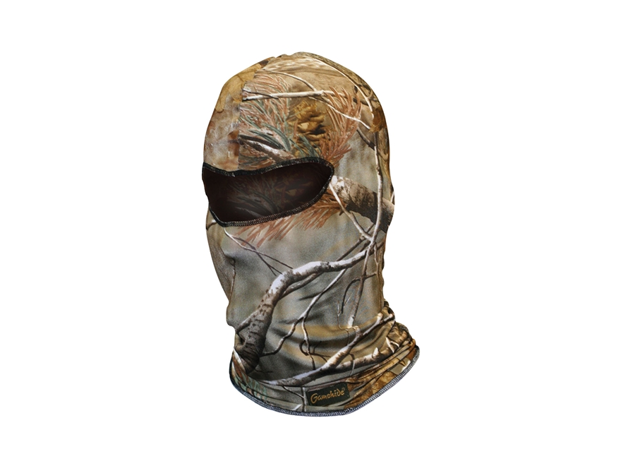 Gamehide Elimitick Face Mask Synthetic Blend Realtree AP Camo