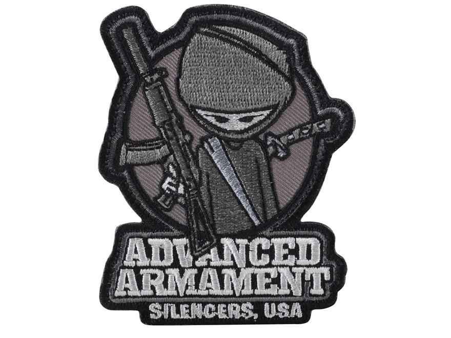 Advanced Armament Co (AAC) Silent Ninja Patch Hook-&-Loop Fastener Black