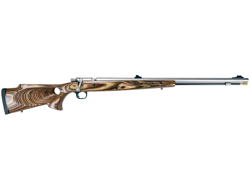 "Knight Mountaineer Western Muzzleloading Rifle .52 Caliber 27"" Fluted Stainless Steel B..."