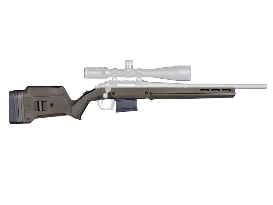 Magpul Hunter American Stock with Magazine Well and PMAG 5 7.62 AC 5-Round Magazine Rug...