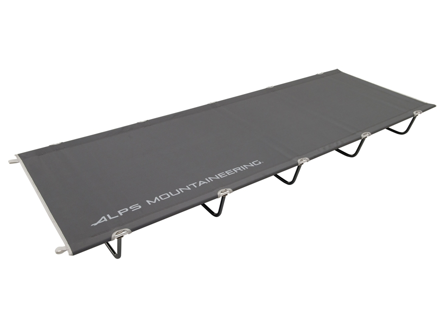 ALPS Mountaineering Ready Lite Camp Cot Aluminum and Polyester Grey