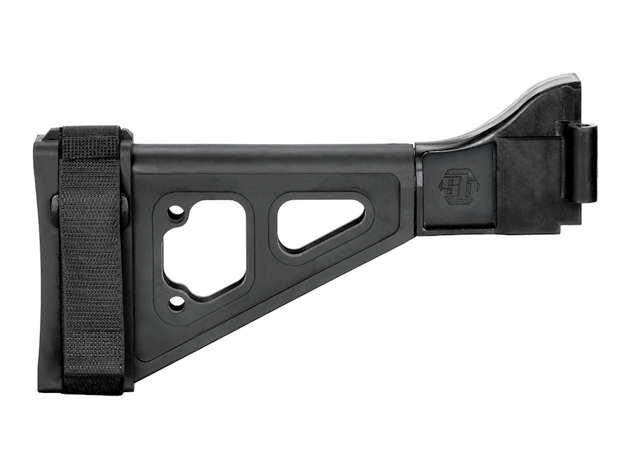 SB Tactical SBT Pistol Stabilizing Brace Side Folding with Adapter B&T APC