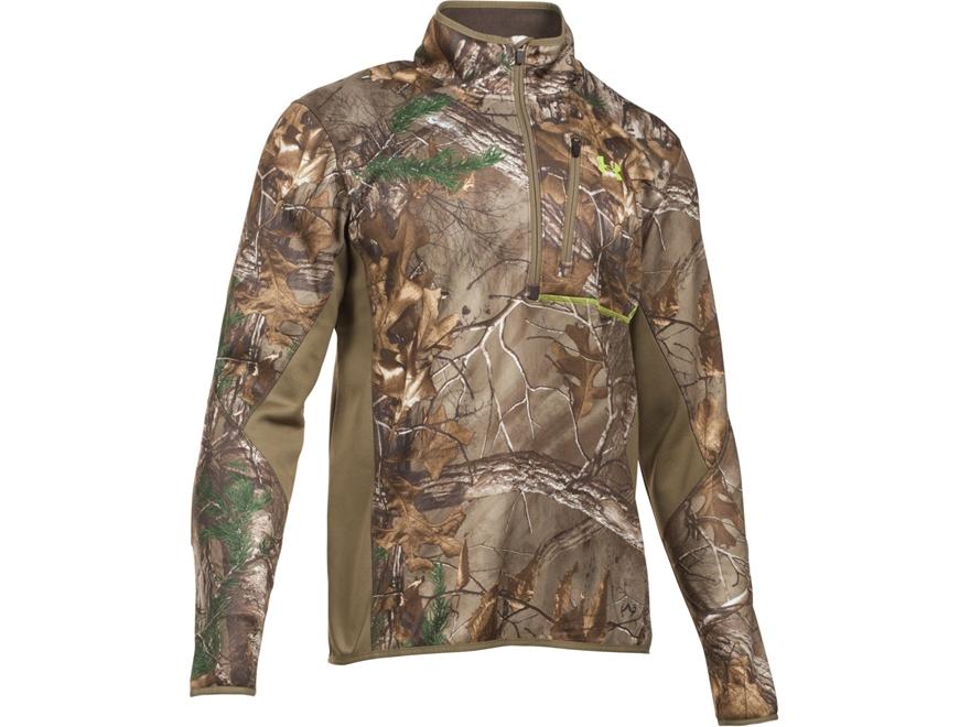 Under Armour Men's UA Scent Control Armour Fleece 2.0 1/4 Zip Shirt Long Sleeve Polyester