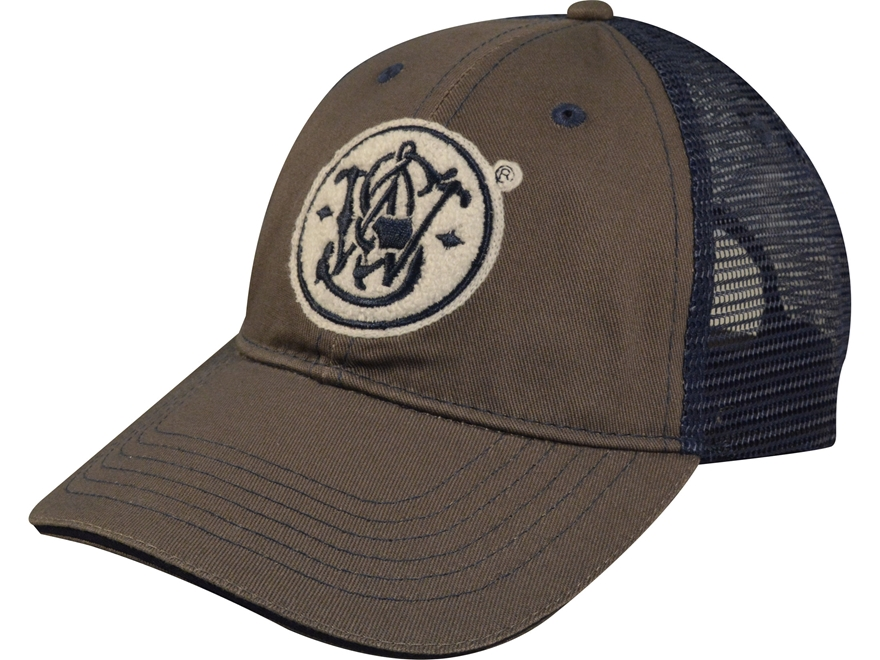 Smith & Wesson Logo Mesh Back Cap Polyester/Nylon