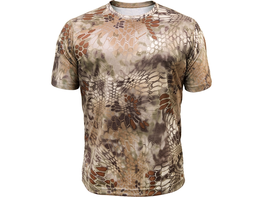 Kryptek Men's Hyperion T-Shirt Short Sleeve Polyester