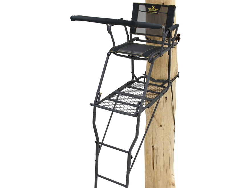 Rivers Edge SCYT Single Ladder Treestand Steel Black