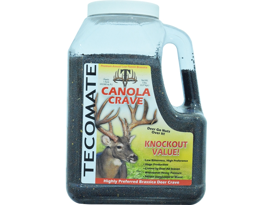 Tecomate Canola Crave Annual Food Plot Seed 5 lb