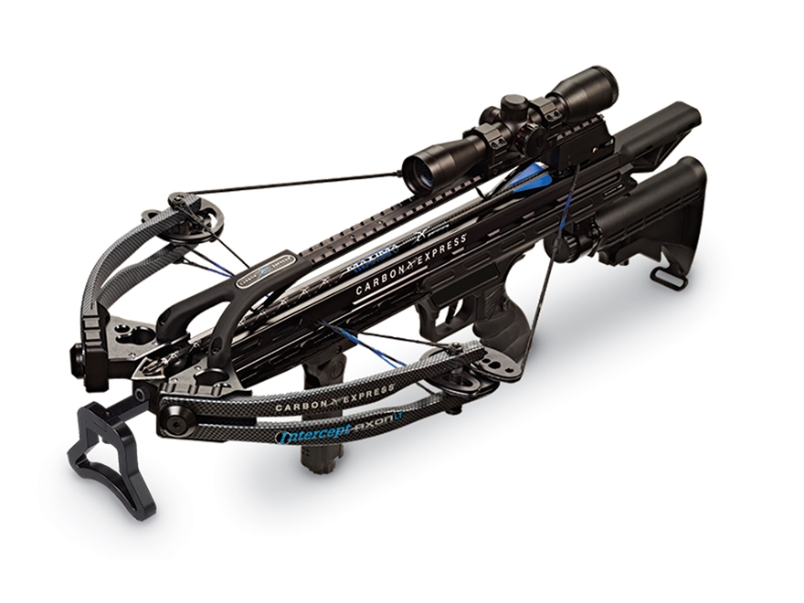 Carbon Express Intercept Axon LT Crossbow Package with 4x32 Multi-Reticle Illuminated S...