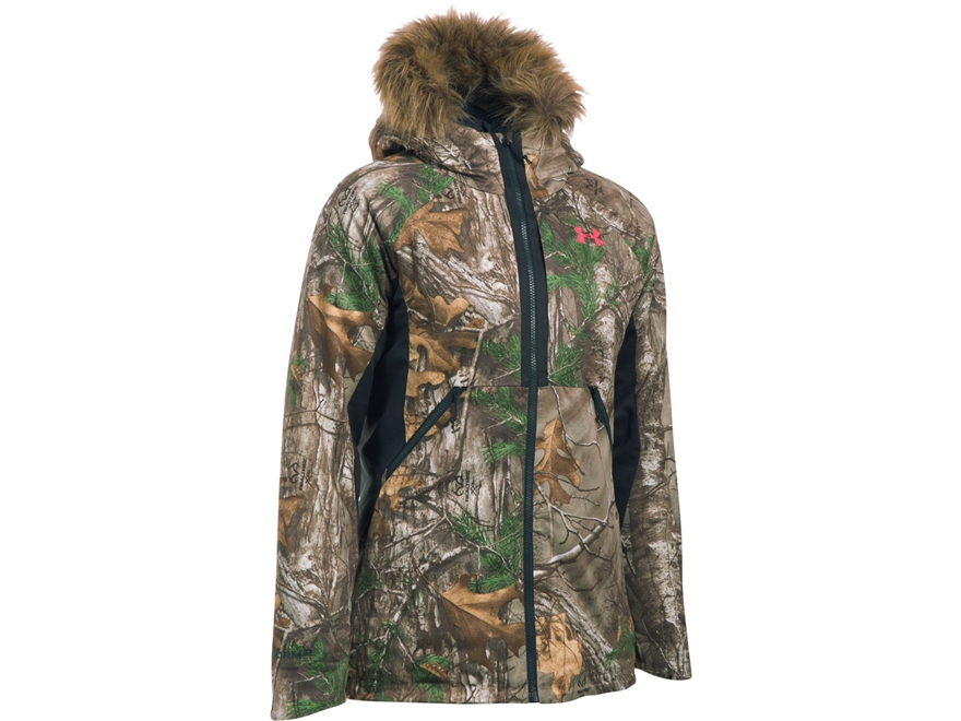 Under Armour Women's UA Siberian Insulated Jacket Polyester Realtree Xtra Camo