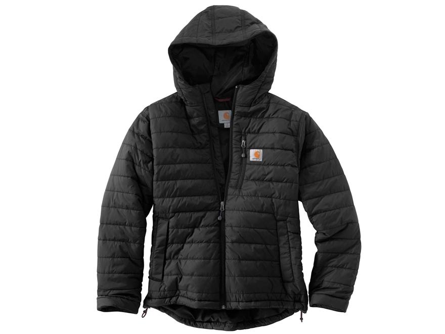 Carhartt Men's Gilliam Insulated Hooded Jacket Nylon Black