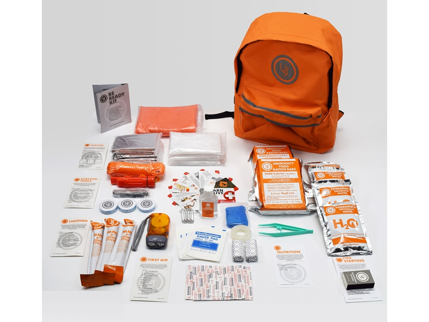 UST Be Ready Emergency Backpack Survival/First Aid Kit