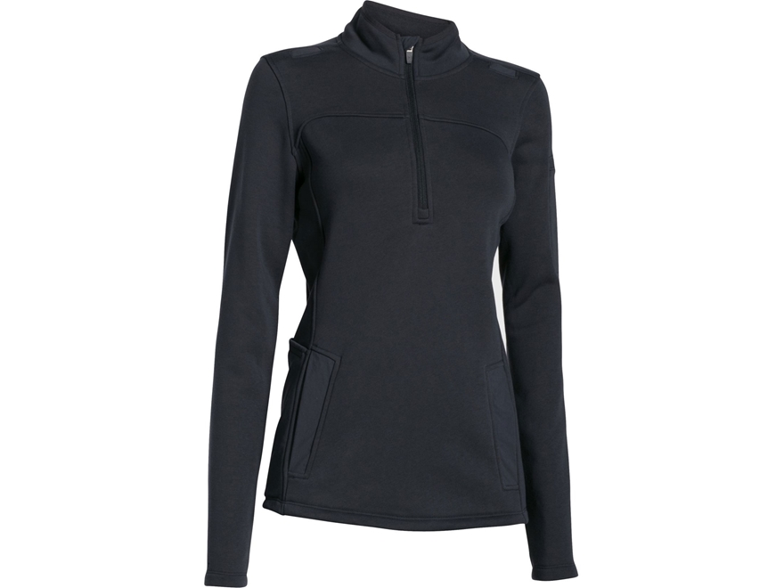 Under Armour Women's UA Tac Job Fleece 1/4 Zip Jacket Cotton and Polyester