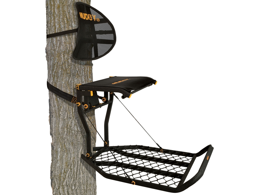 Muddy Outdoors The Prodigy Hang on Treestand Steel Black