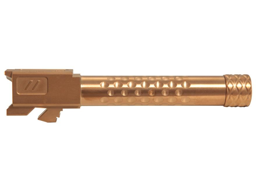 "ZEV Technologies Match Grade Barrel Glock 19 9mm Luger 1 in 10"" Twist 4.48"" Dimpled 1/2..."