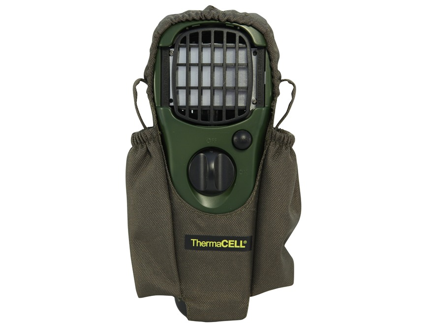 Thermacell Mosquito Repellent with Holster Olive Green